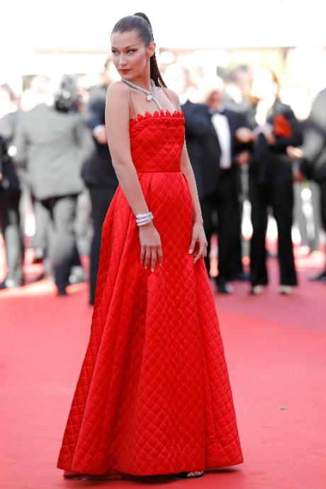 Красные платье в каннах