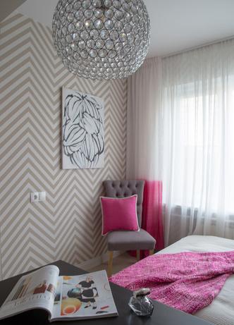 Яркая геометрия в петербургской квартире фото [14]