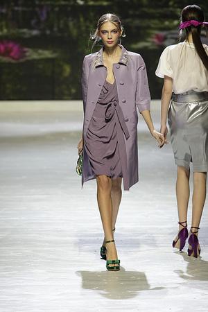 Показы мод Blugirl Весна-лето 2009 | Подиум на ELLE - Подиум - фото 3373