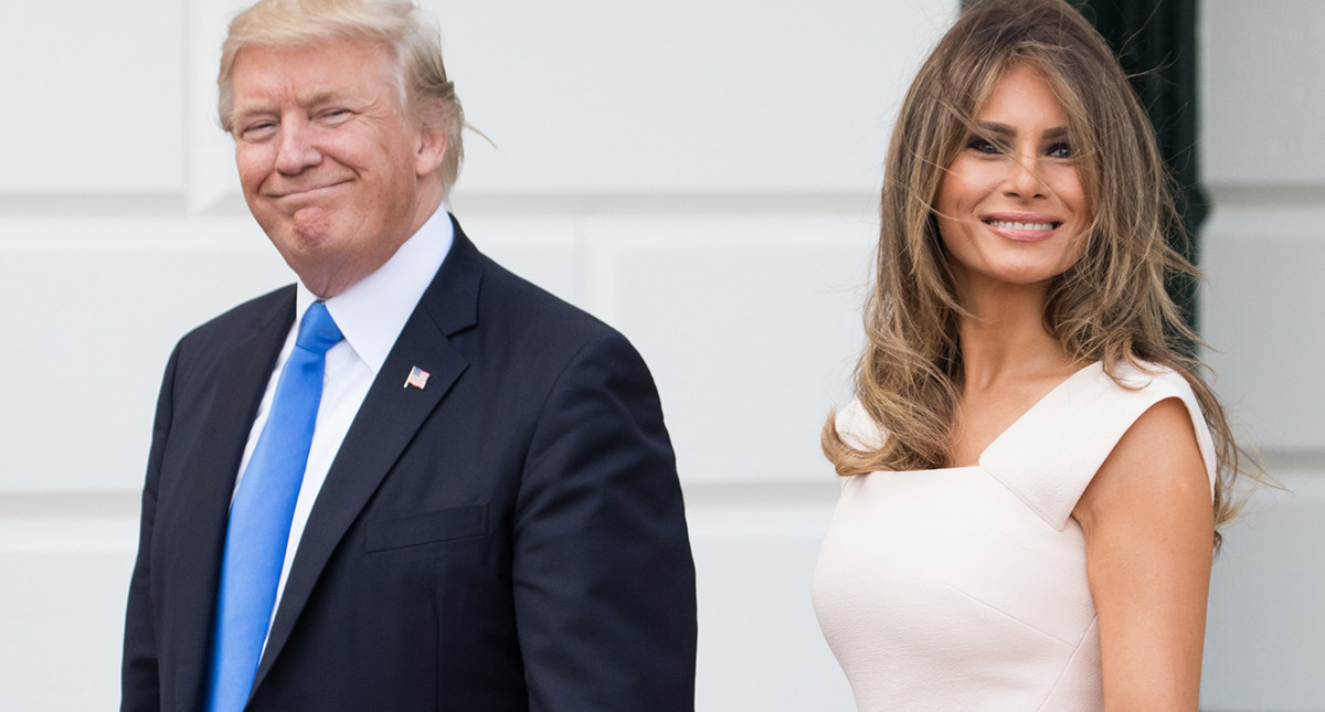 обязательно помогут фото трампа и его супруги правильно сочетать