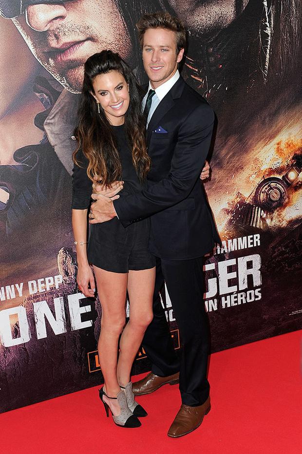 Арми Хаммер с супругой фото 2