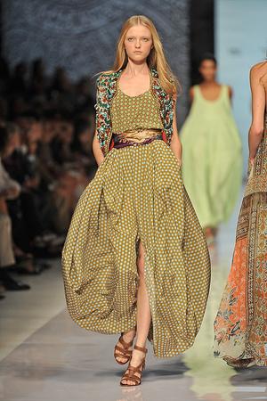 Показы мод Etro Весна-лето 2009 | Подиум на ELLE - Подиум - фото 3356