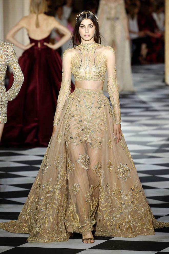 Великолепный век: 10 лучших платьев с показа Zuhair Murad (фото 10)