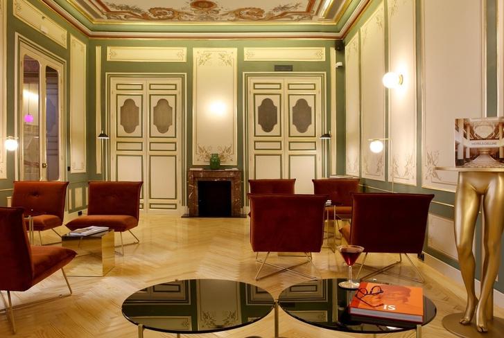 Отель с нетрадиционной ориентацией в Мадриде (фото 3)
