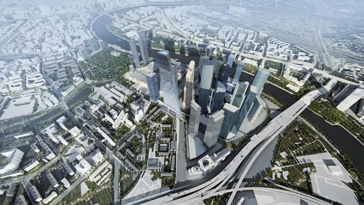 Самый высокий небоскреб Москвы построят по проекту Сергея Скуратова (фото 0)