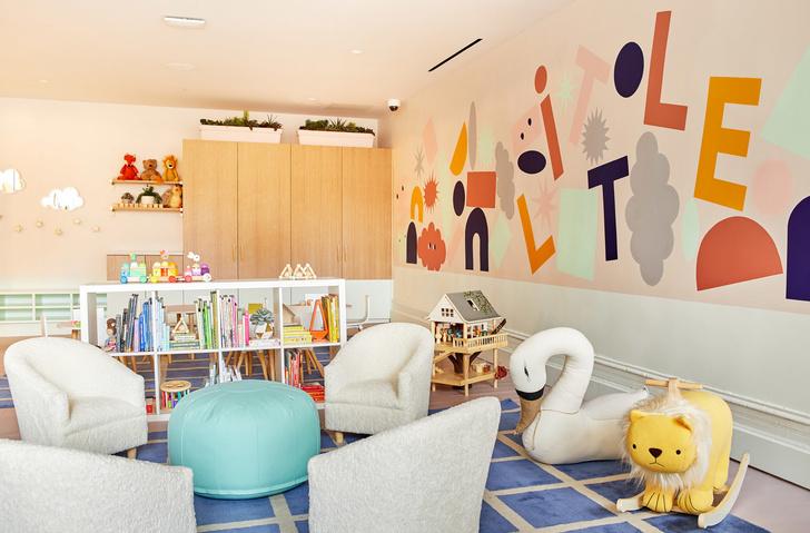 Детская комната в коворкинге The Wing (фото 7)