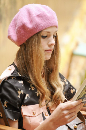 Показ Orla Kiely коллекции сезона Весна-лето 2014 года Prêt-à-porter - www.elle.ru - Подиум - фото 561748