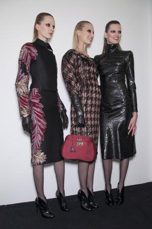 Показ Gucci коллекции сезона Осень-зима 2013-2014 года prêt-à-porter - www.elle.ru - Подиум - фото 514911