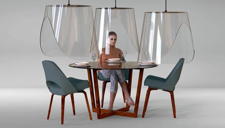 Дизайн против коронавируса: защитные экраны для ресторанов (фото 6)