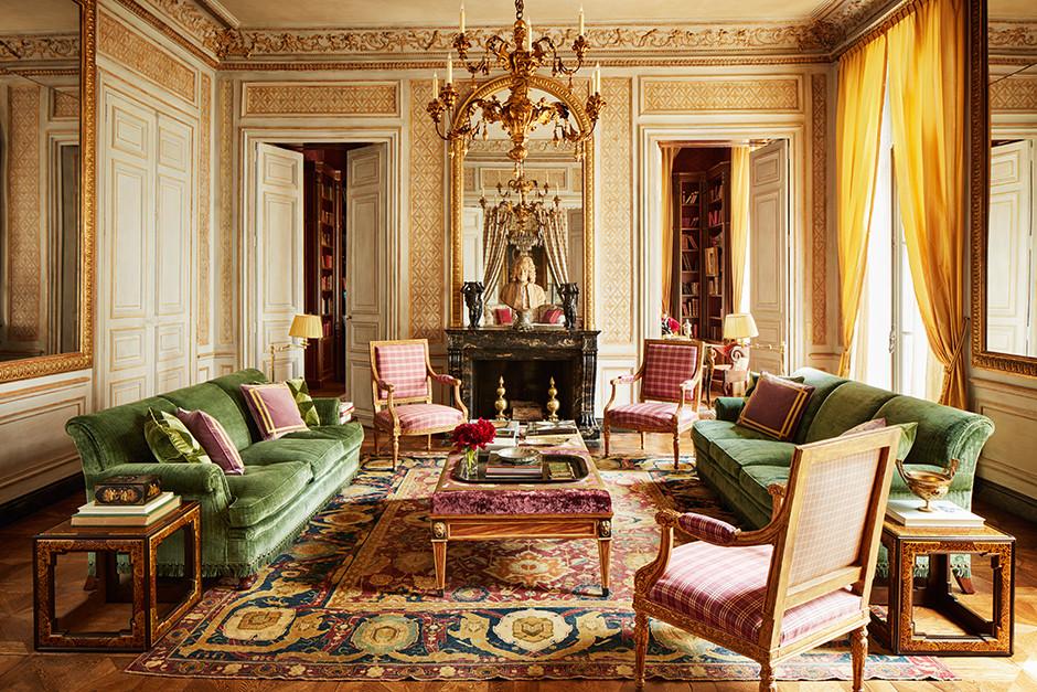 Квартира в парижском особняке