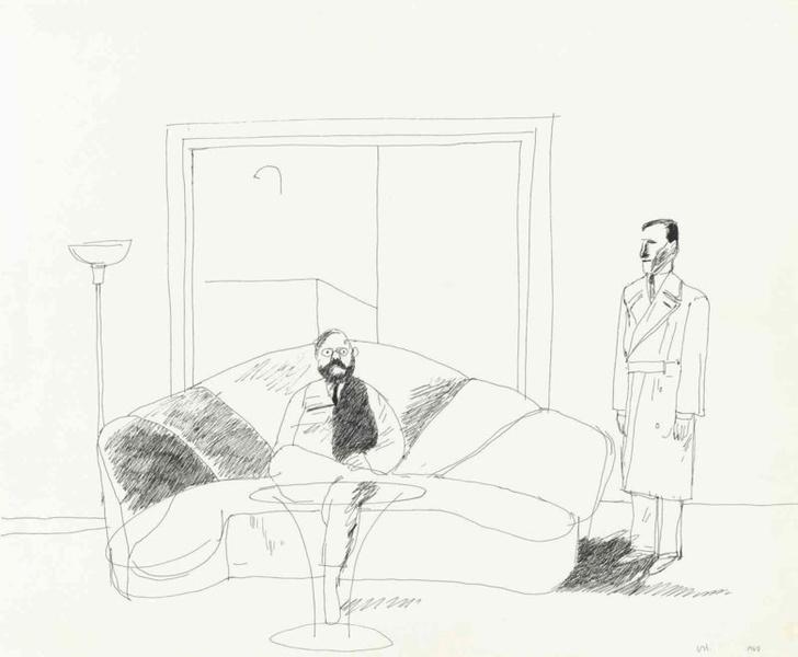 Еще одна картина Дэвида Хокни на торгах Christie's (фото 4)