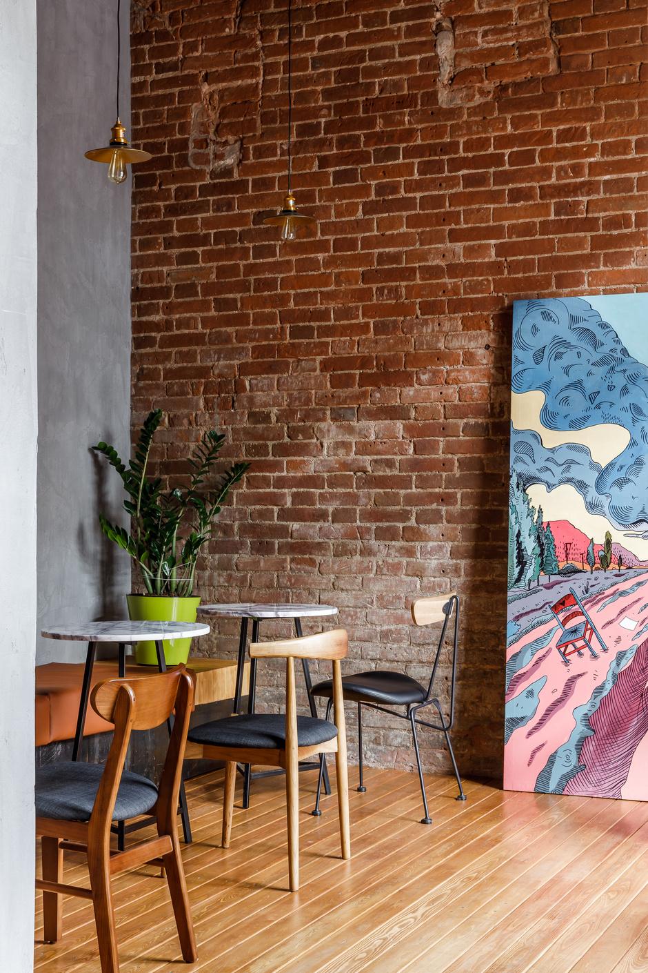Кофейня в Краснодаре в стиле лофт (фото 0)