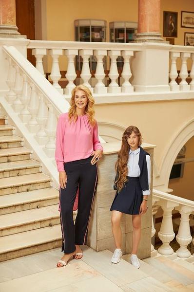 Скоро в школу: звездные мамы с детьми в новой рекламной кампании H&M | галерея [1] фото [4]