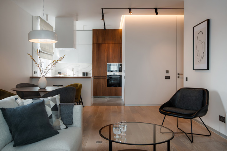 Квартира 77 м² в стиле минимализм (фото 3)