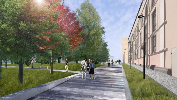 Новый вход в парк Горького по проекту бюро Wowhaus (фото 2)