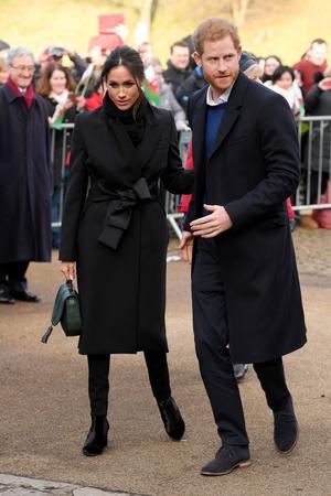 Новый выход принц Гарри и Меган Маркл (фото 1)