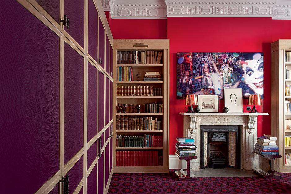 Красный цвет в интерьере: (галерея 0, фото 10)