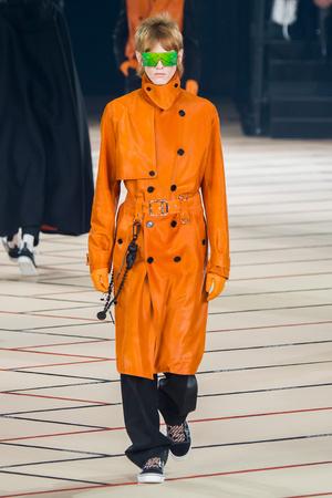 Показ Dior Homme коллекции сезона Осень-зима 2017-2018 года Men prêt-à-porter - www.elle.ru - Подиум - фото 615861