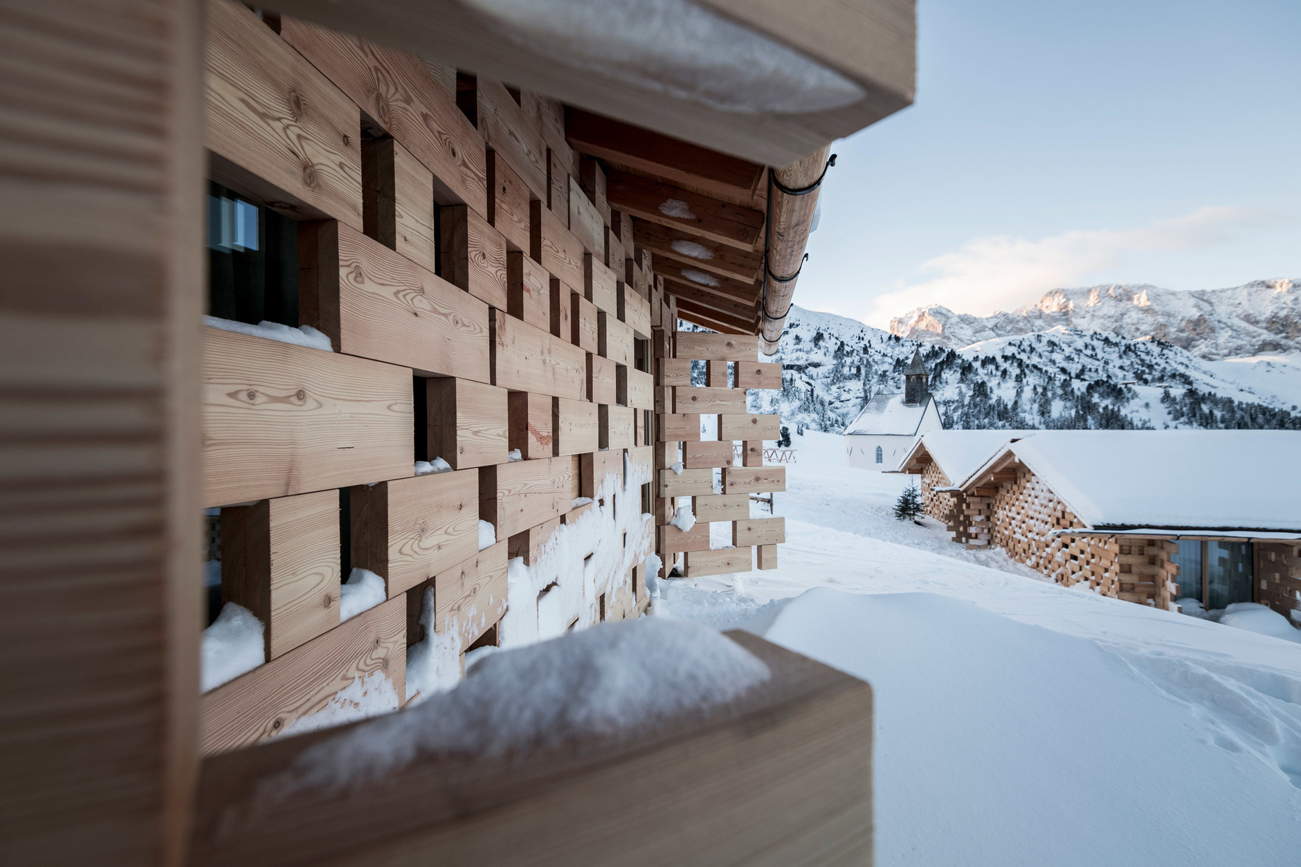 Хит-парад: дизайнерские отели на горнолыжных курортах (галерея 4, фото 1)