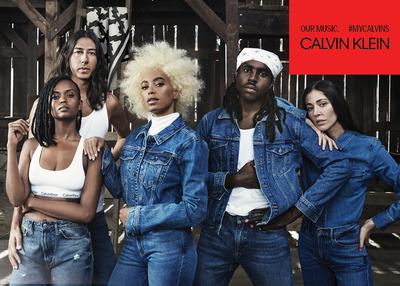 Соланж снялась в рекламной кампании Calvin Klein (галерея 3, фото 0)