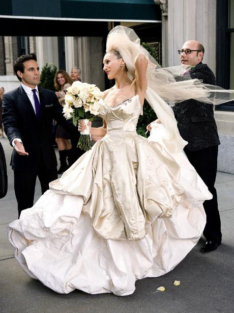 4c0b228cf5e Самые известные свадебные платья из фильмов и сериалов