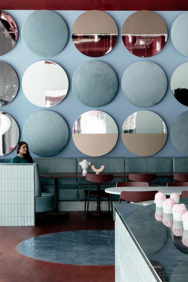 Яркий ресторан Cinnamon в Дублине (фото 10)