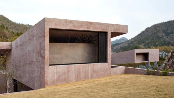 Розовая часовня Дэвида Чипперфилда в Японии (фото 1)