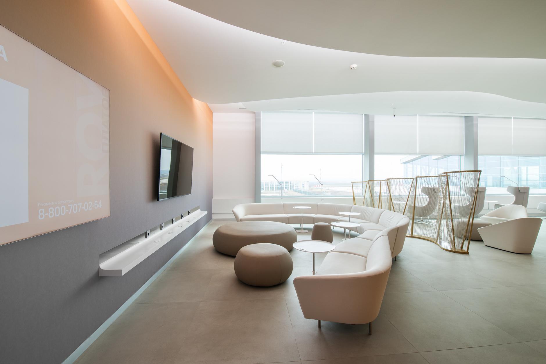 Бизнес-лаунж аэропорта «Платов» в Ростове-на-Дону: проект VOX Architects (галерея 9, фото 3)