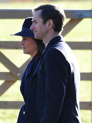 Кейт Миддлтон и принц Уильям посетили воскресную службу (фото 4)
