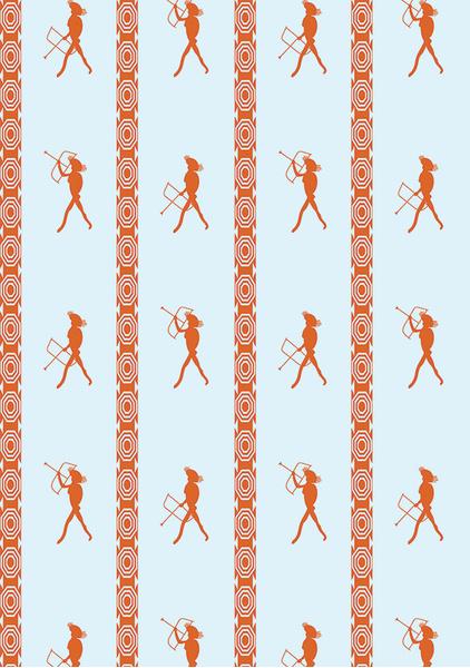 Декоратор Анна Муравина выпустила коллекцию обоев | галерея [1] фото [19]