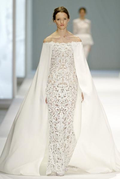 Лучшие свадебные платья из кутюрных коллекций   галерея [3] фото [6]