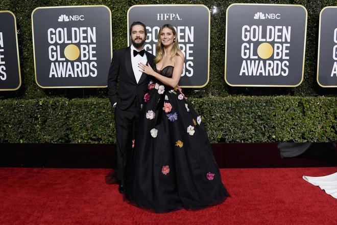 Том Каулитц и Хайди Клум на церемонии «Золотой глобус» (фото 2)