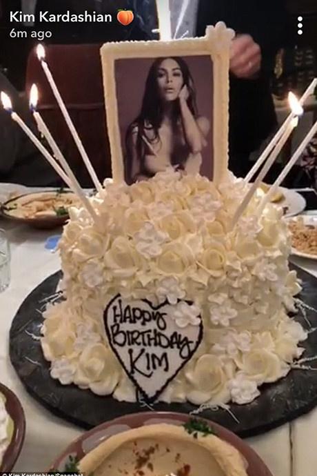 Семейный праздник: Ким Кардашьян отпраздновала день рождения фото [1]