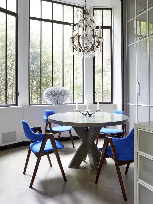Дом на Манхэттене по дизайну Жан-Луи Деньо (фото 12)