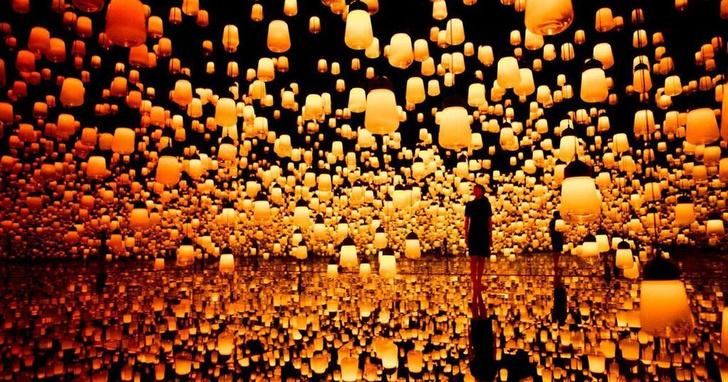 В Токио открылся первый в мире музей цифрового искусства (фото 4)