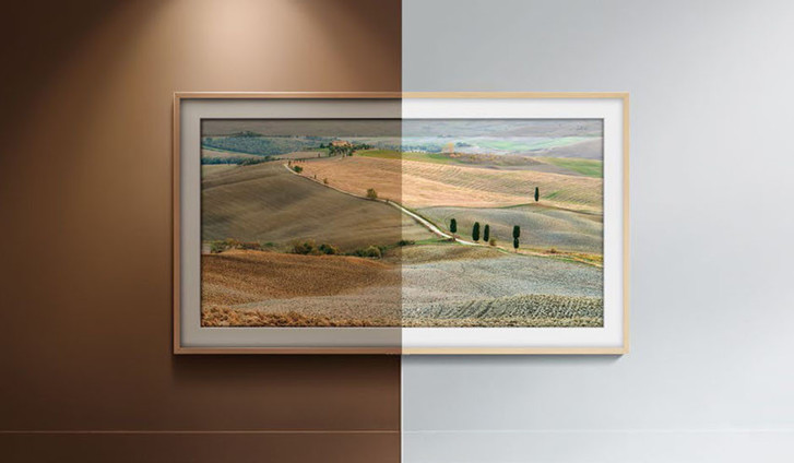 Телевизор - картина Samsung The Frame — искусство в интерьере фото [18]