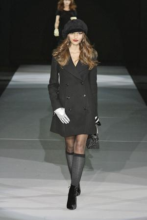 Показы мод Emporio Armani Осень-зима 2009-2010 | Подиум на ELLE - Подиум - фото 3176