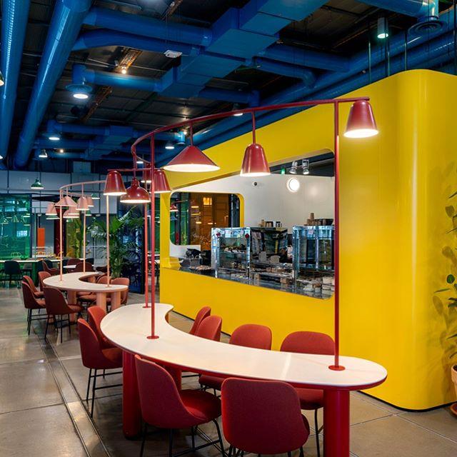 Новое кафе в Центре Помпиду по дизайну Хайме Айона (фото 0)