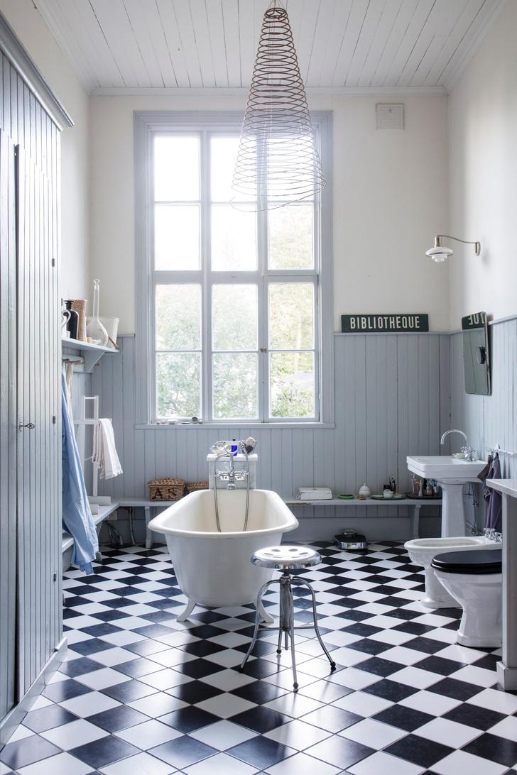 Голубая мечта: дом шведской художницы Гуннель Салин (фото 20)