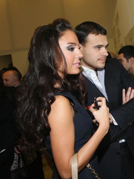 Лейла Алиева и Эмин Агаларов