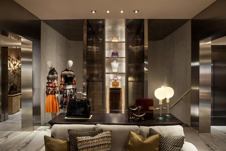 Fendi Монте-Карло: новый бутик по проекту Dimore Studio (фото 2)