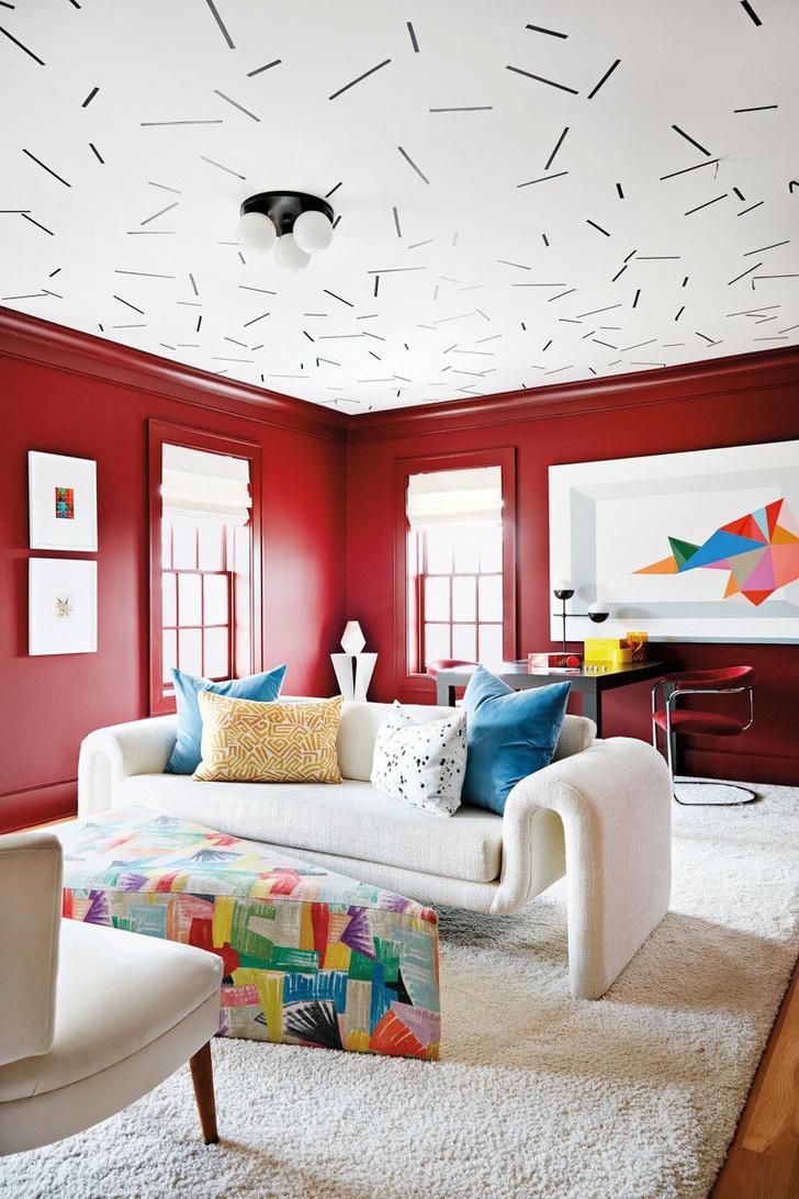 Яркие подушки в интерьере: 25+ идей (галерея 1, фото 26)
