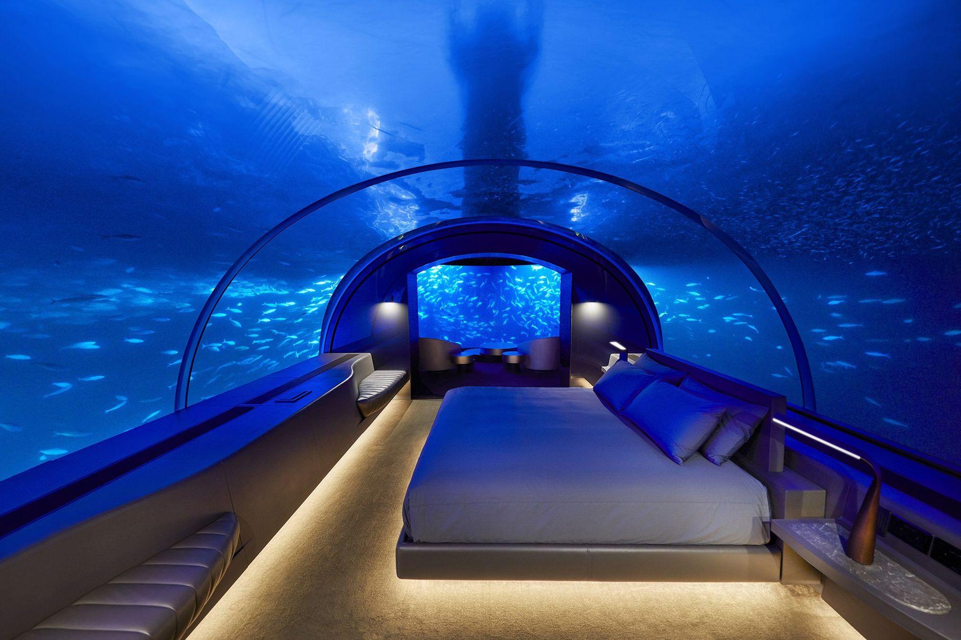 Первый в мире подводный отель готовится к открытию (галерея 7, фото 1)