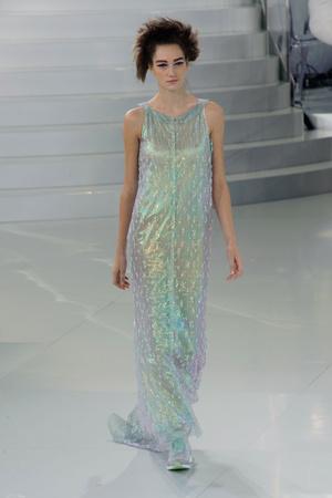 Показ Chanel коллекции сезона Весна-лето 2014 года haute couture - www.elle.ru - Подиум - фото 574490