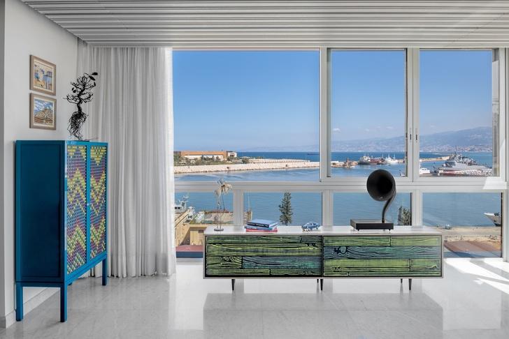 Дом для коллекционера искусства в Бейруте (фото 2)