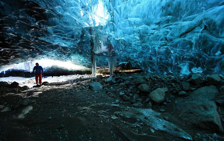 Ледяная пещера Скафтафетль, Исландия