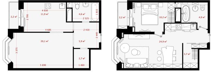 Первый план: все, что нужно знать о планировке маленьких квартир (фото 30)