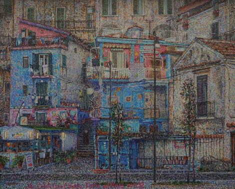 Открытие выставки художника Никиты Макарова «География воздуха» | галерея [1] фото [8]