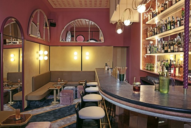 Experimental Cocktail Club: бар по дизайну Кристины Челестино (фото 2)