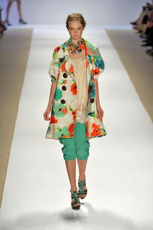Показ Nanette Lepore коллекции сезона Весна-лето 2009 года prêt-à-porter - www.elle.ru - Подиум - фото 74995